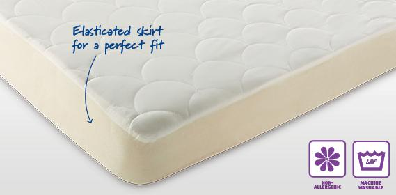 Slumberdown Feels Like Down Quilted Mattress Protectors