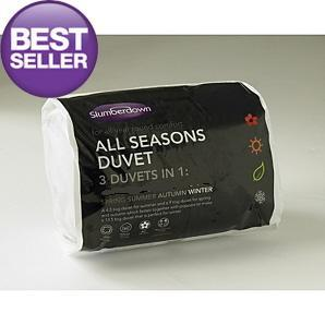 All Seasons Slumberdown 3 Duvets In 1 4 5 10 5 Tog 15 0