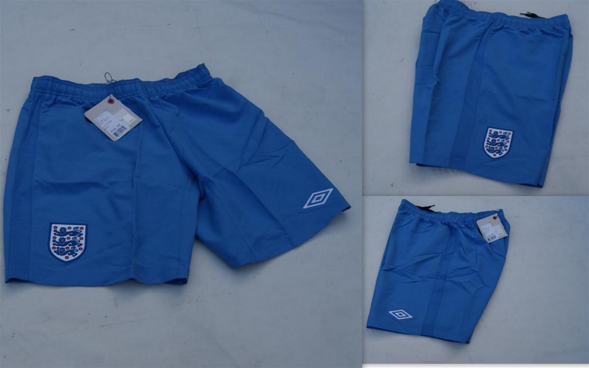 Official-Umbro-England-Mens-Away-Blue-Football-Matchday-Shorts-2011-2012-BNWT