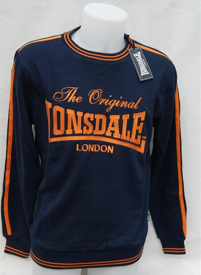Lonsdale-Original-London-Mens-Sweater-Jumper-Navy-Blue-Sweatshirt-Gym-Training