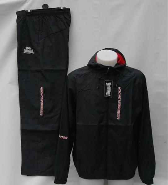 LONSDALE-LONDON-MENS-BLACK-TRAINING-SET-HOODED-TRACKSUIT-TRACK-JACKET-PANT