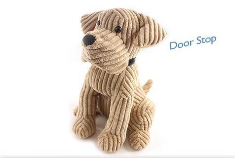 Novelty cute fabric pheasant door stop heavy weighted stopper animal bird ebay - Cute door stoppers ...