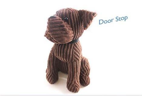 1 8kg Heavy Door Stop Novelty Animal Dog