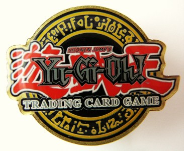 yugioh trading card game duelist league logo pin ebay