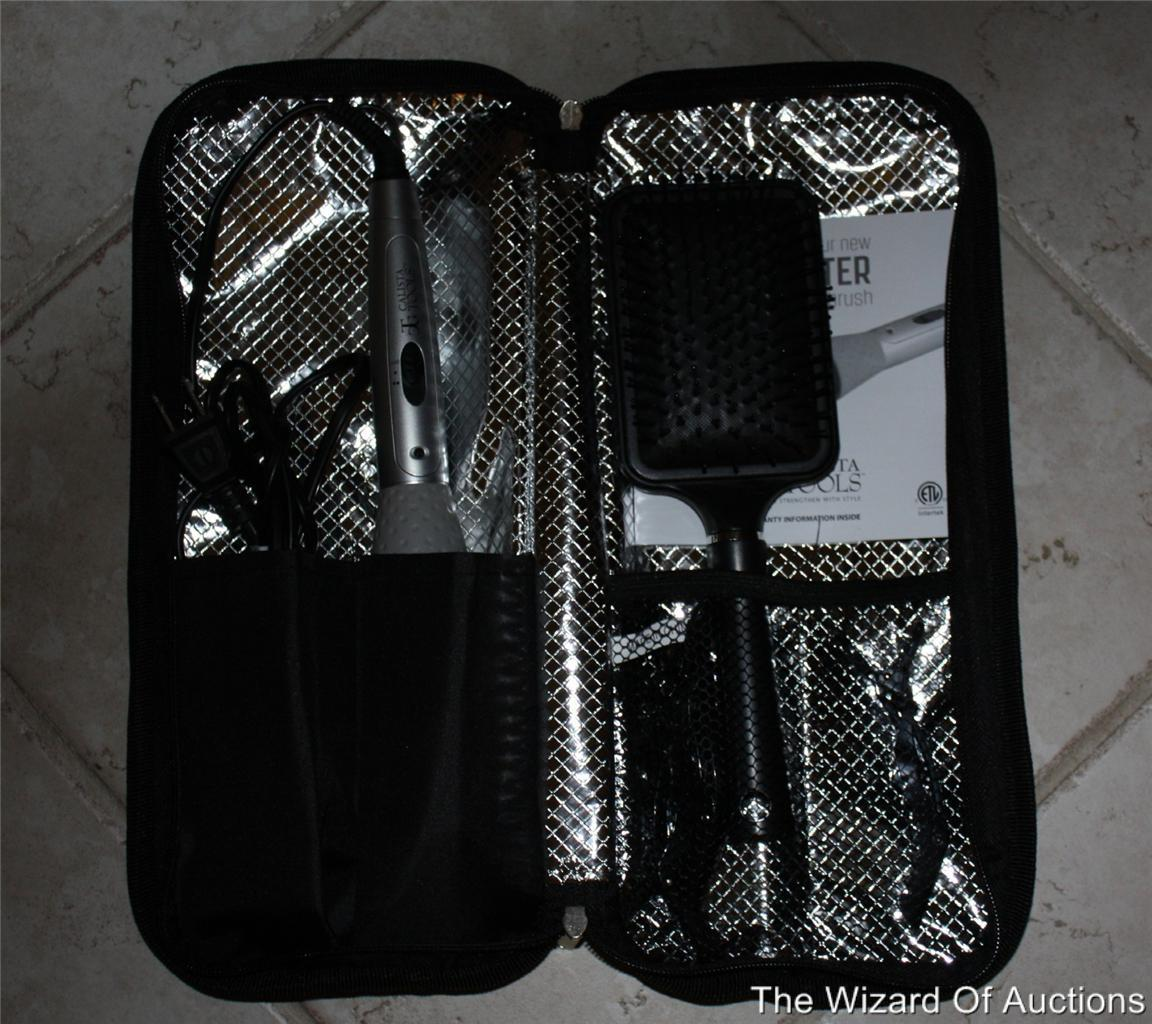 Comes With Travel Case Hair Brush Hair Clips and Instruction Booklet