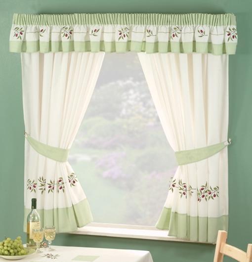 KITCHEN WINDOW CURTAINS Inc FREE TIEBACKS Many Sizes