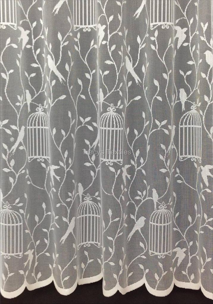 Net curtains and voiles net curtains butterfly white net - Cheap Voile Net Curtains Slot Top Plain Butterfly Semi