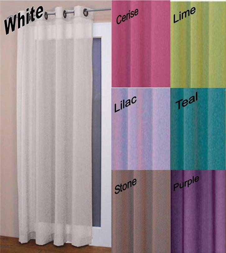 Ringtop-Eyelet-Voile-Curtain-Panel-Machine-Washable