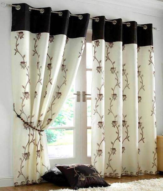 ALICE LINED VOILE RING TOP EYELET CURTAINS ~ Many Colours &amp ...