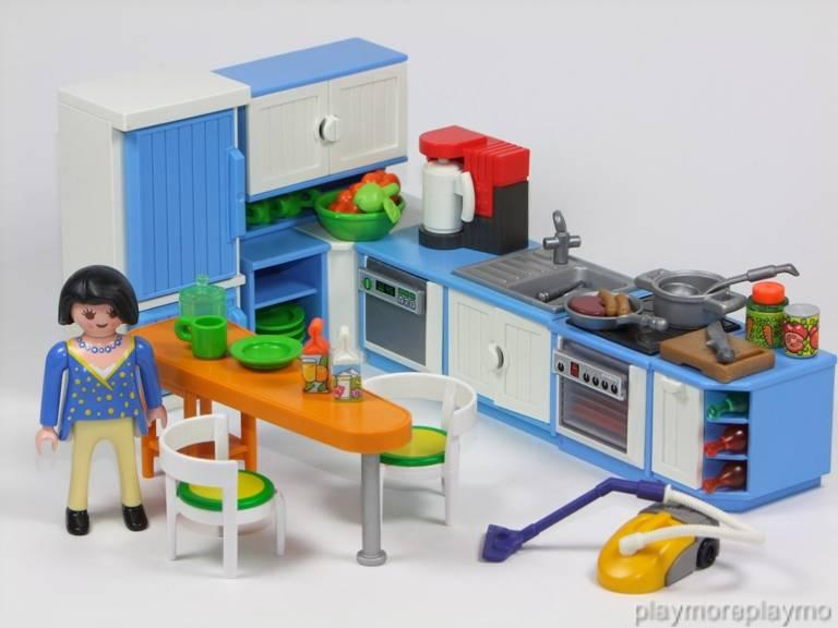 Playmobil kitchen furniture food accessories 5329 for - Cuisine playmobil 5329 ...
