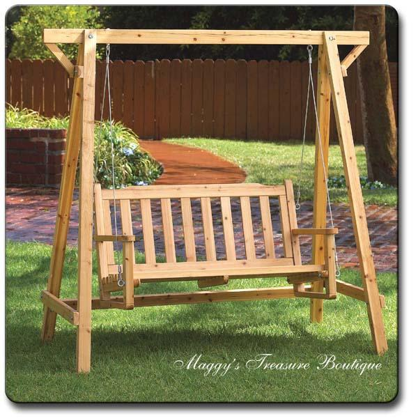 What Is The Best Bench Swing
