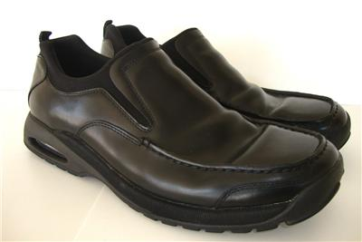 Cole Haan Nike Air Men's Black Leather Waterproof Shoes Sz. 12 Driving