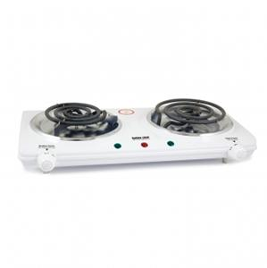 Countertop Stove Elements : DOUBLE DUAL ELEMENT ELECTRIC COUNTERTOP RANGE HOT PLATE STOVE BURNER
