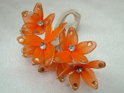 Ebay Wedding Decorations on Wedding Favors Decorations Rhinestone Orange Flowers   Ebay
