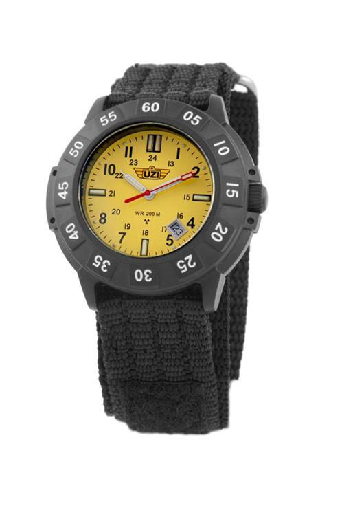 Uzi protector tritium watch dive tactical swat ems u005 ebay for Tritium dive watches