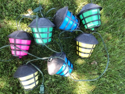 about 1 coach lantern tiki party patio camping r v light string