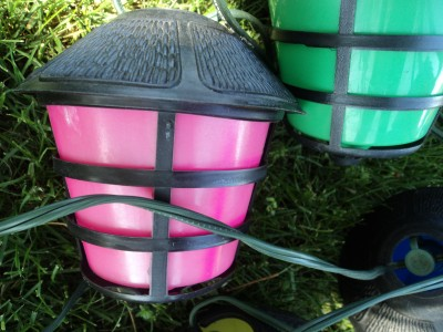 string lights on coach lantern tiki party patio camping r v light