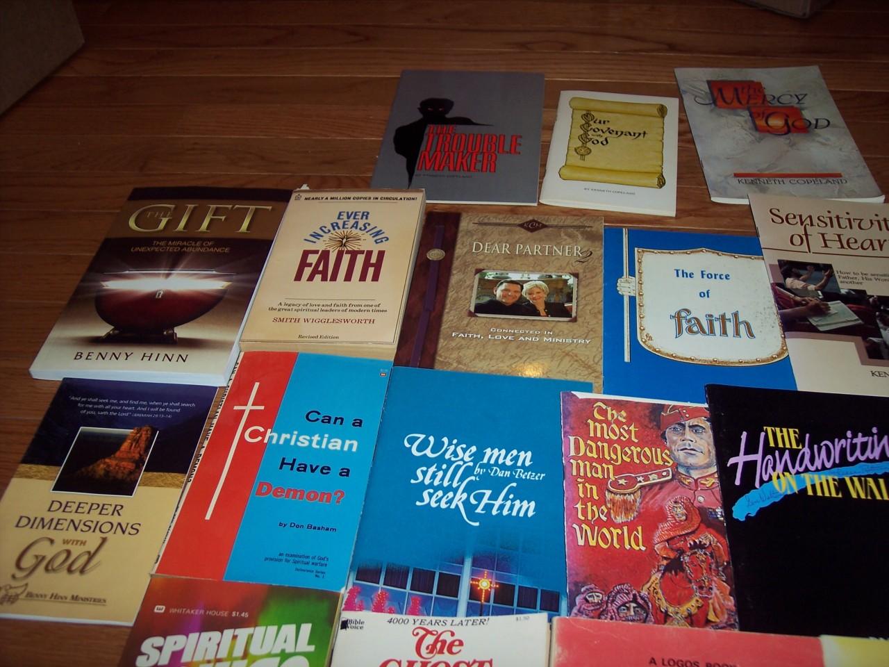 Lot of Christian Faith Teaching Hinn Basham Nee Otis Religion Watchman