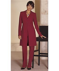 Lastest Pants Burgundy Suit Blouse Jacket Jacket Pants Women Suits