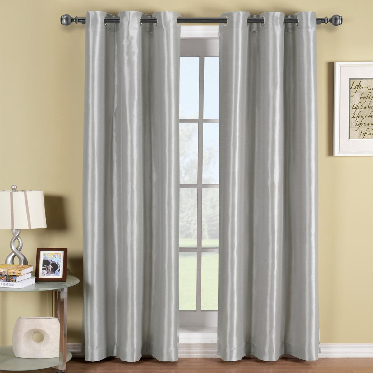 Soho Grommet Blackout Curtain Panel 42 Wide X 96 Long 13 Color Choices Ebay