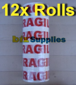 12-Sticky-Fragile-Tape-Packing-Tape-for-Packaging-Parcel-mailing-48mmx66m