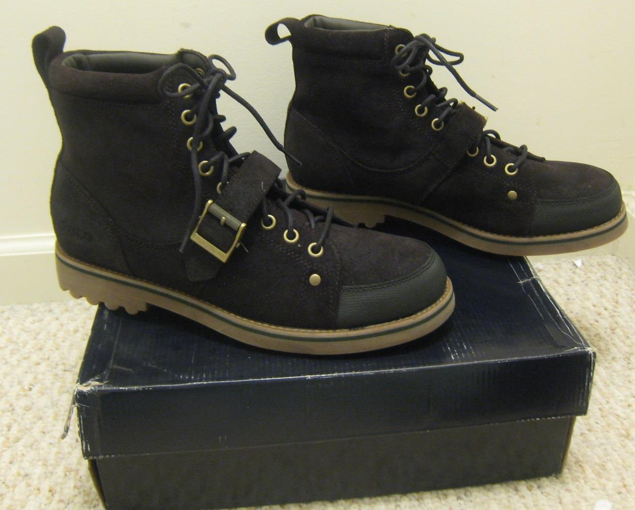 new polo ralph mcalton suede mens boots shoes