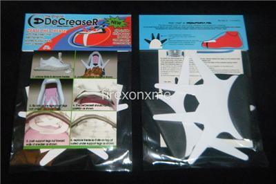 Shoe DeCreaser - Better than Force Field DeCreasers