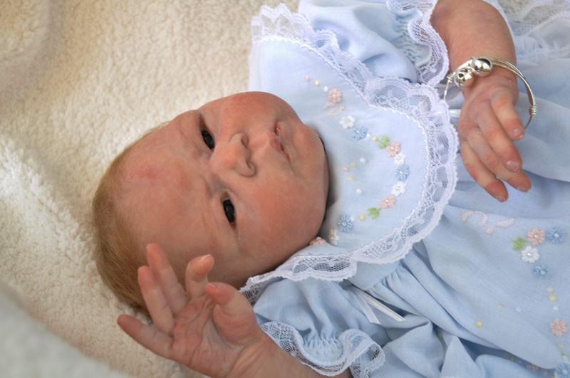 Petite Nesiah Preemie Full Body Soft Solid Silicone Baby