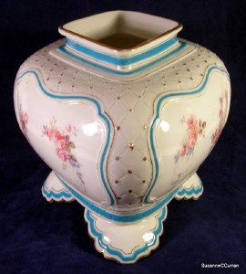 Antique 1895 royal worcester cachepot jardiniere vase with for Jewelry stores in worcester massachusetts