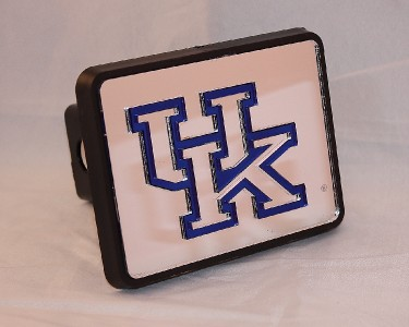 of Kentucky Wildcats Mirrored Acrylic UK Logo Hitch Cover