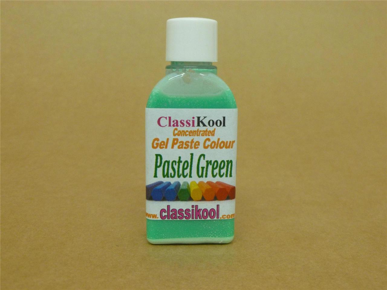 CLASSIKOOL-30G-POT-PASTEL-COLOURING-GEL-FOOD-PASTE-ICING-SUGARPASTE-COLOURS