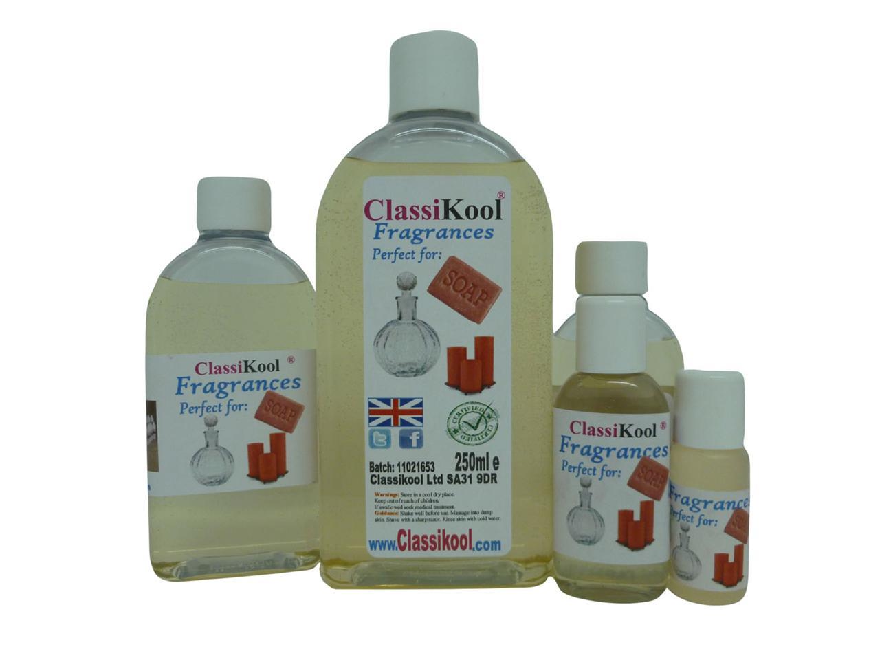 CLASSIKOOL FRAGRANCE OIL CANDLE SOAP PERFUME BATH BOMB COSMETICS MAKING SCENTS