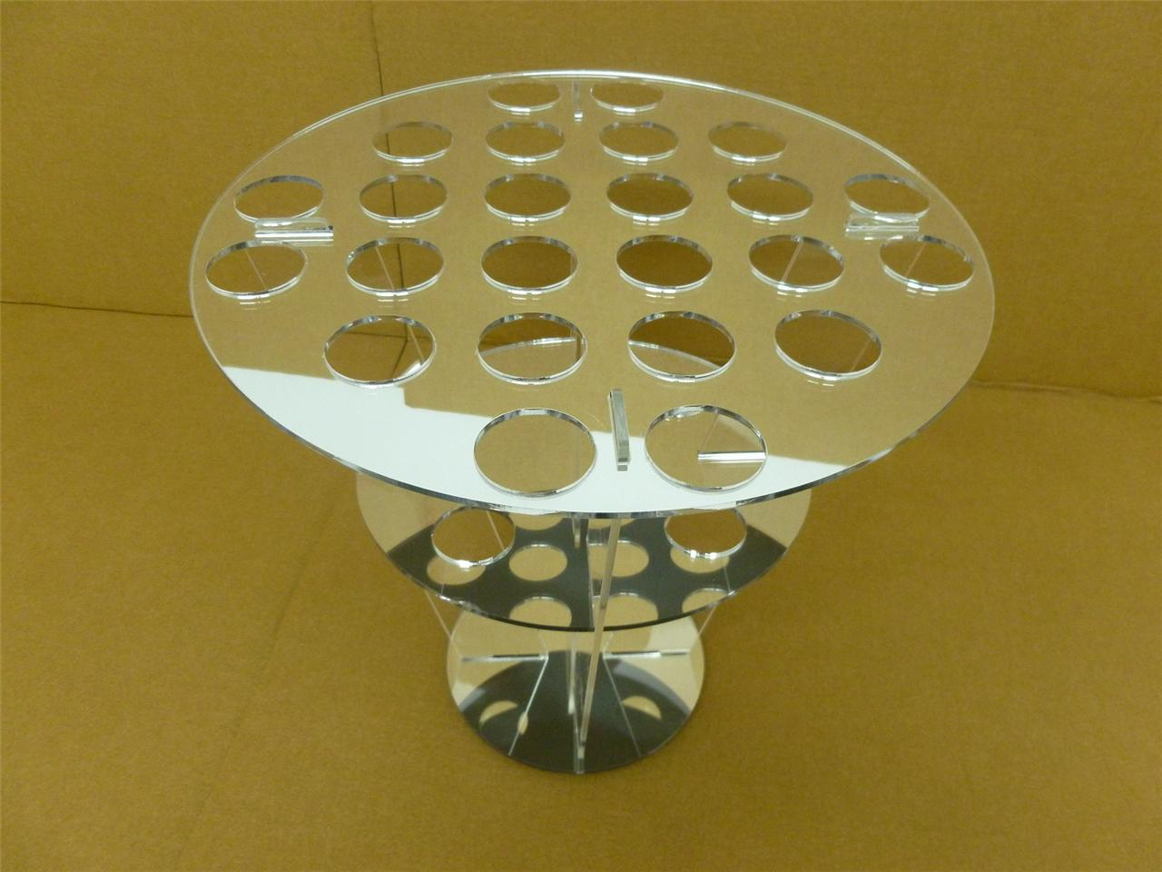 classikool acrylic canape cone ice cream holder stand