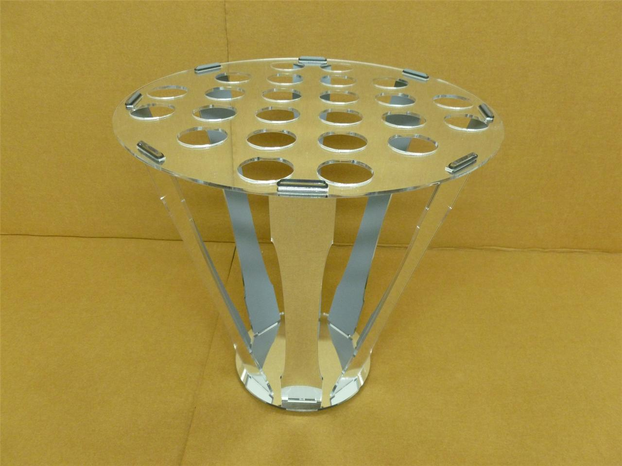 Classikool acrylic canape cone ice cream holder stand for Canape display stands