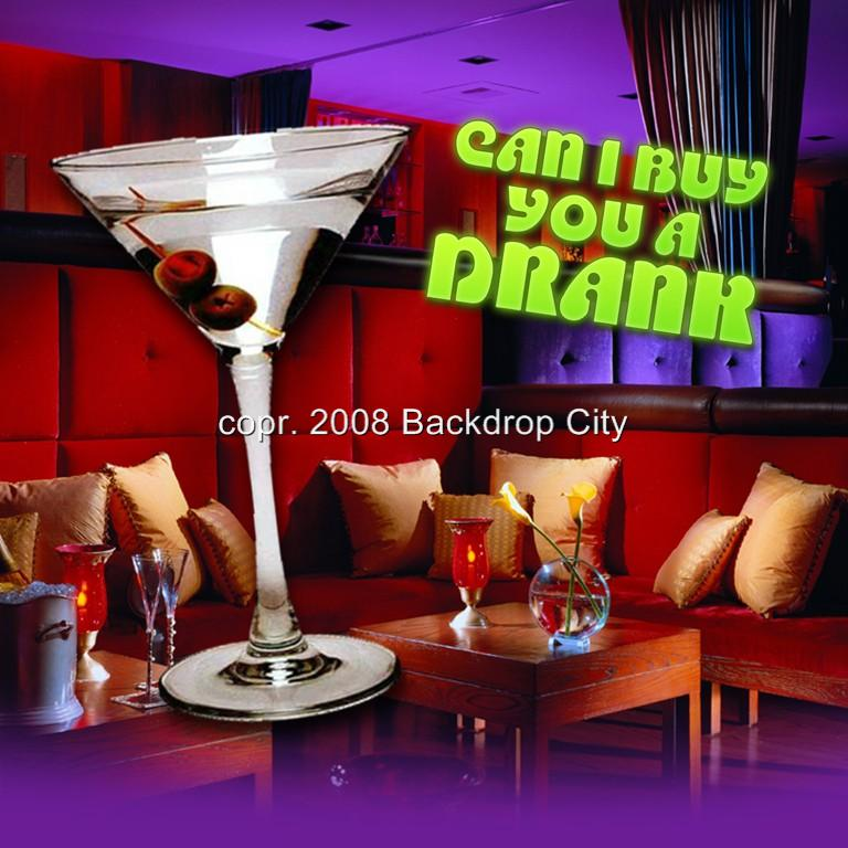 Buy U a Drank Computer Printed Backdrop