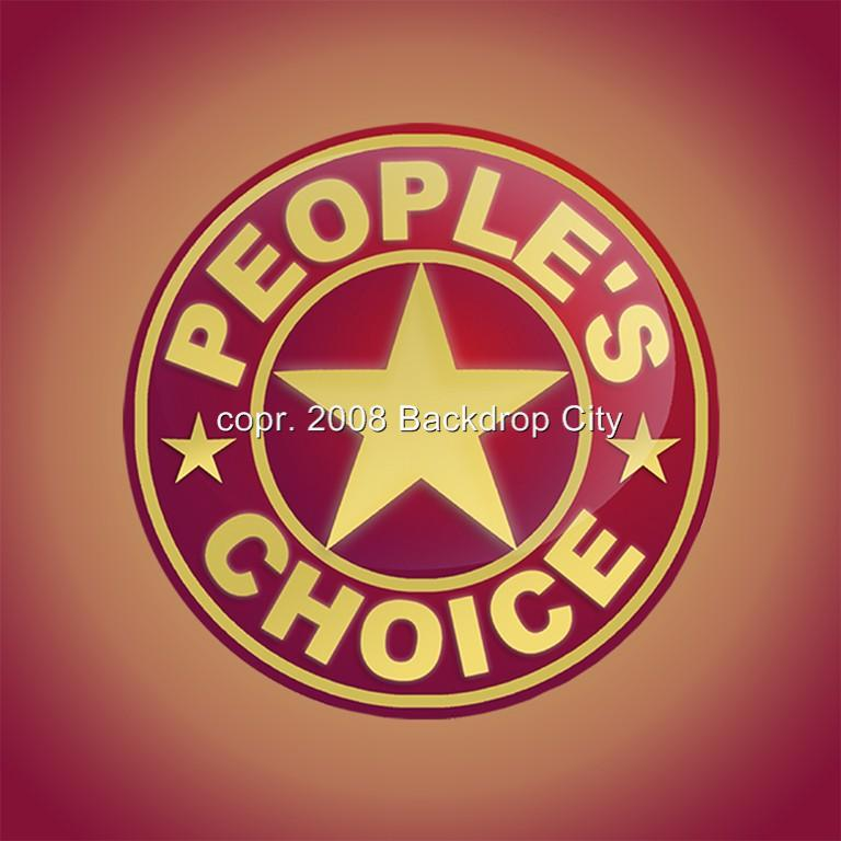 People's Choice Computer Printed Backdrop