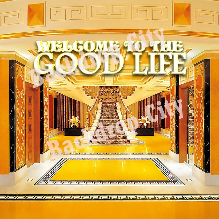 Good Life Computer Printed Backdrop
