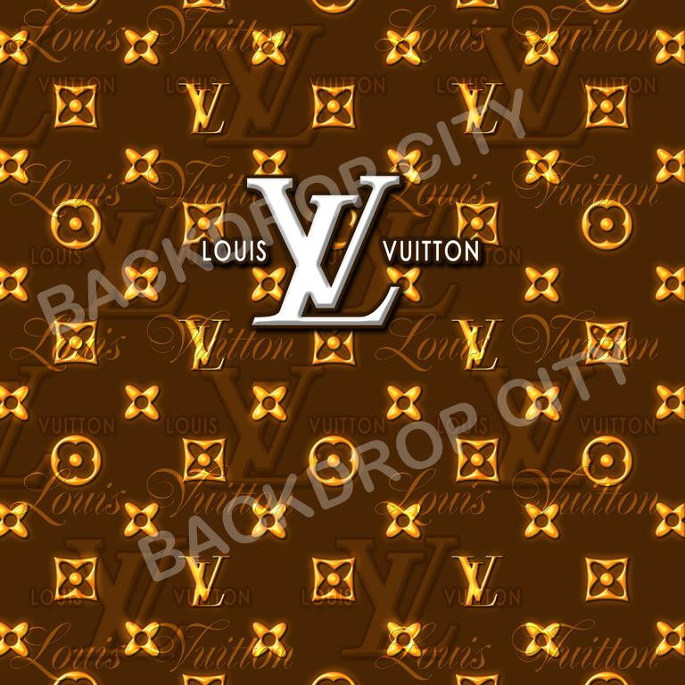 Louis Vuitton Computer-Printed Backdrop