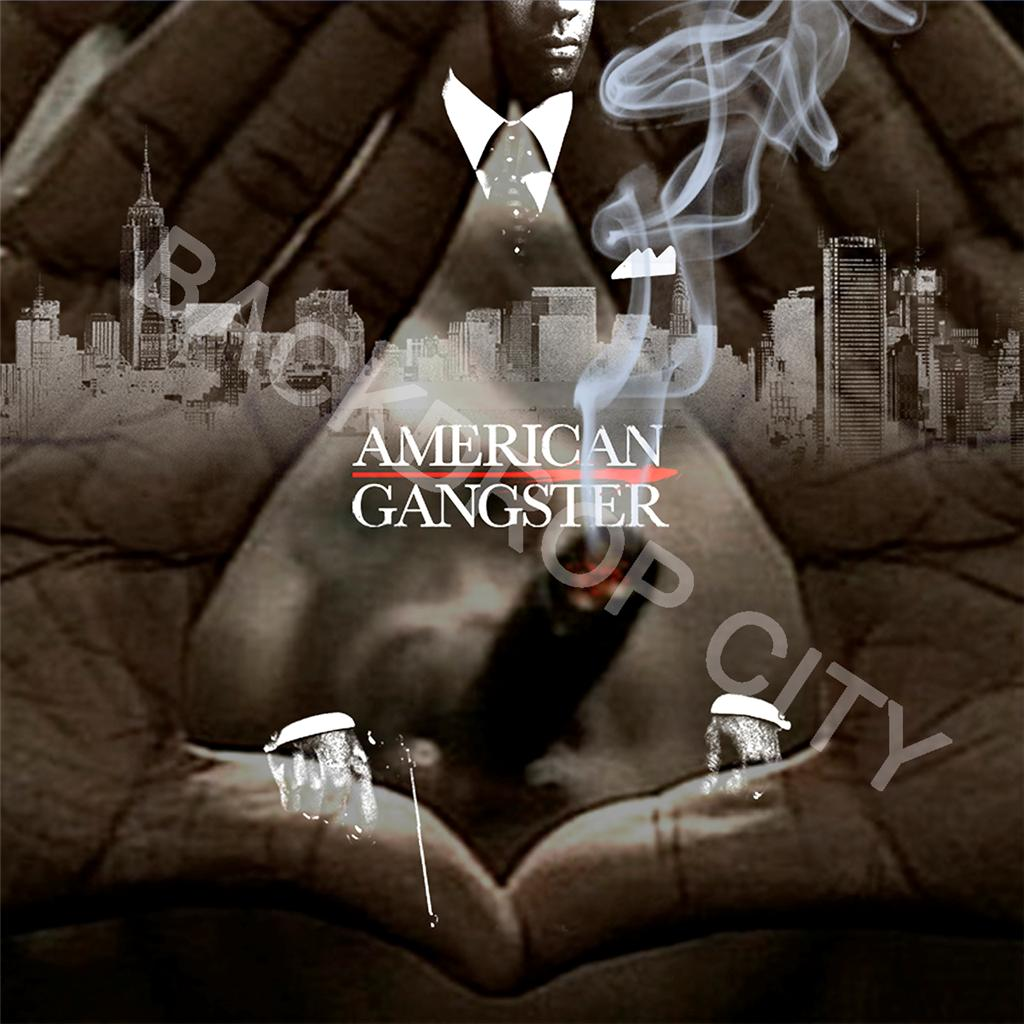 American Gangster Smoke Computer-Printed Backdrop