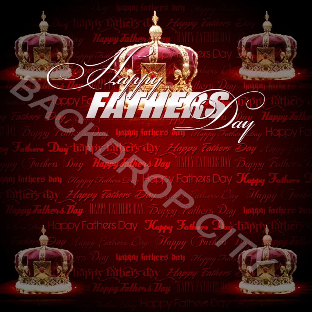 FATHERS DAY Computer Printed Backdrop and Digital Image