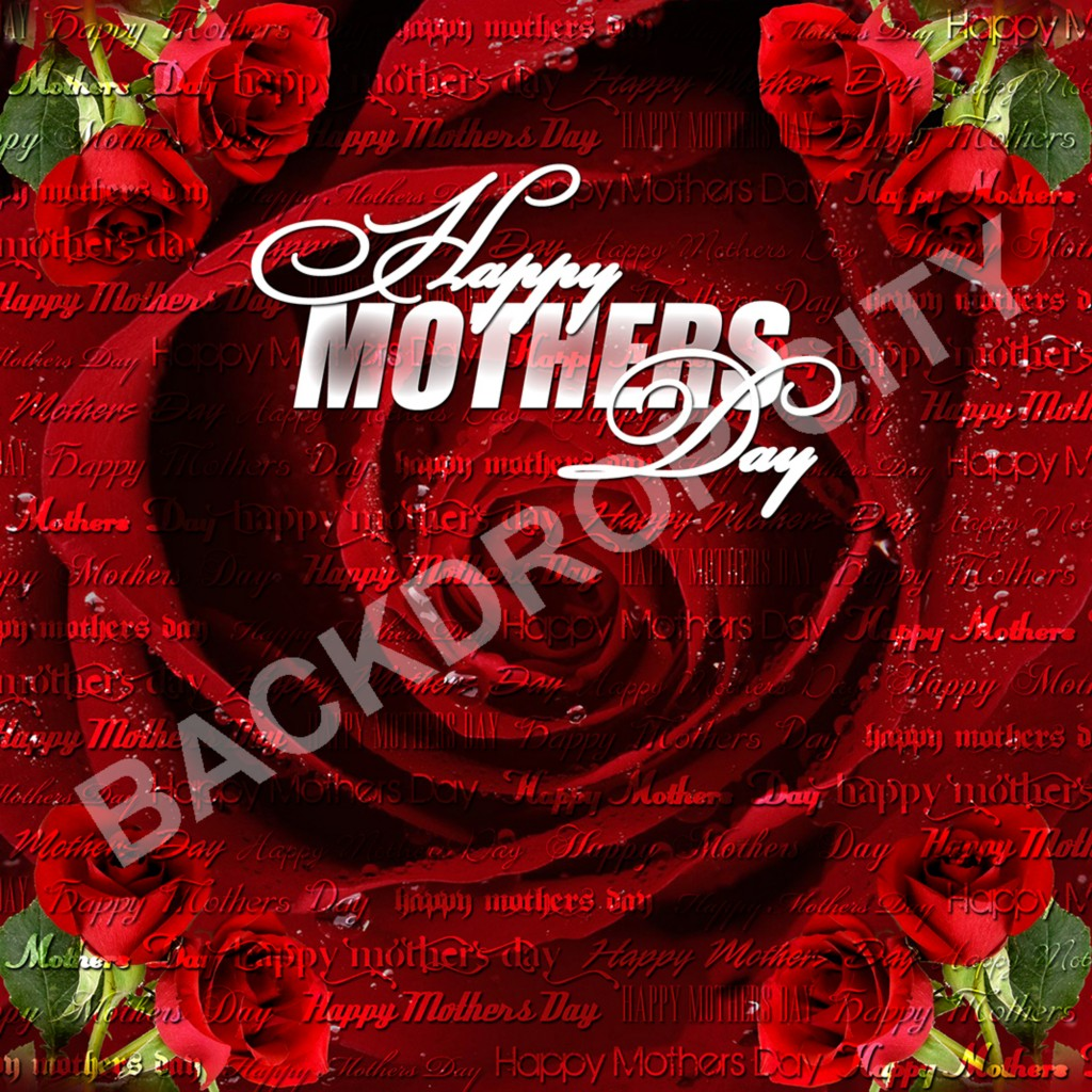 MOTHERS DAY Computer Printed Backdrop and Digital Image
