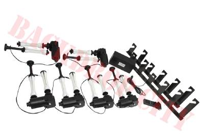 6 Roller Electric Motorized Photographic Backdrop City