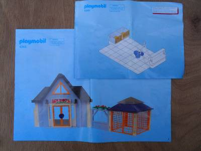 playmobil vet clinic instructions