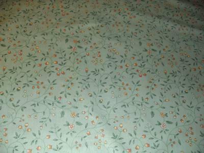 Waverly Newberry Small Vine New Drapery Curtain Fabric Sea