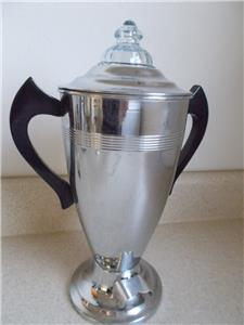 1930 s Vintage FORMAN Chrome COFFEE POT#314 Percolator maker NOT WORKING #73 eBay