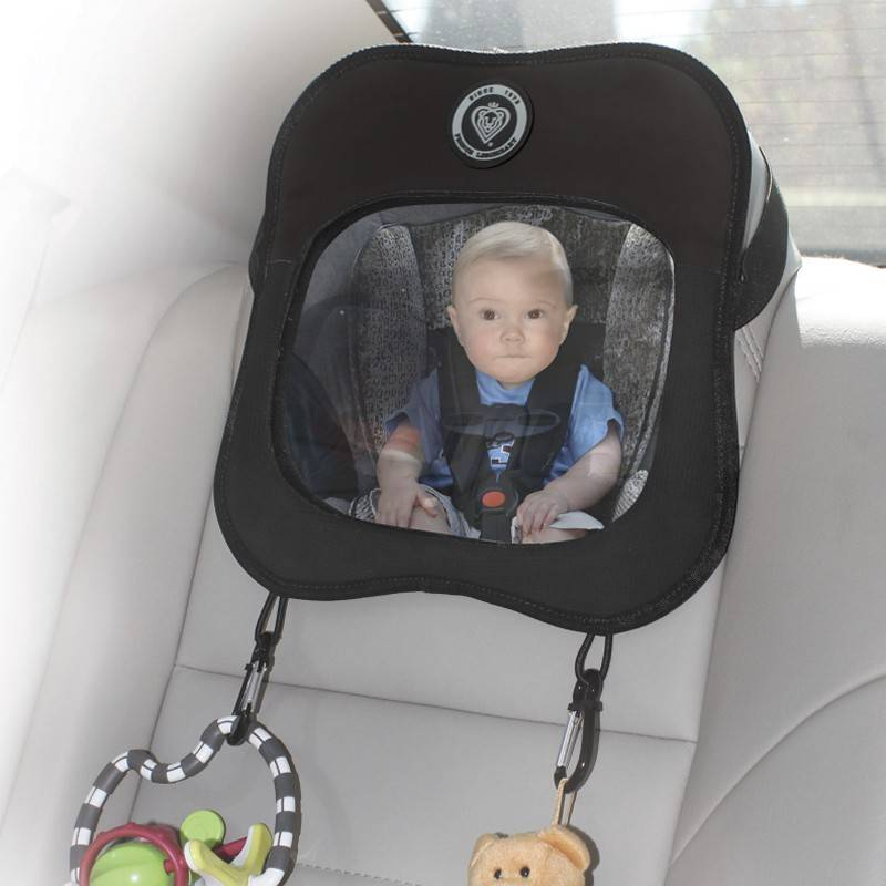 Prince Lionheart Baby Child View Adjustable Mirror for Rear Facing Car Seat NEW