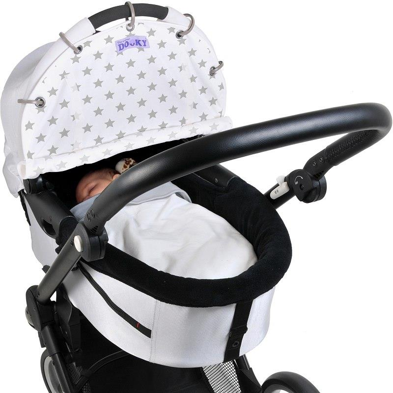 Dooky-Sun-Shade-Baby-Buggy-Pram-Car-Seat-  sc 1 st  eBay & Dooky Sun Shade Baby Buggy/Pram/Car Seat Wind Noise UV Protection ...