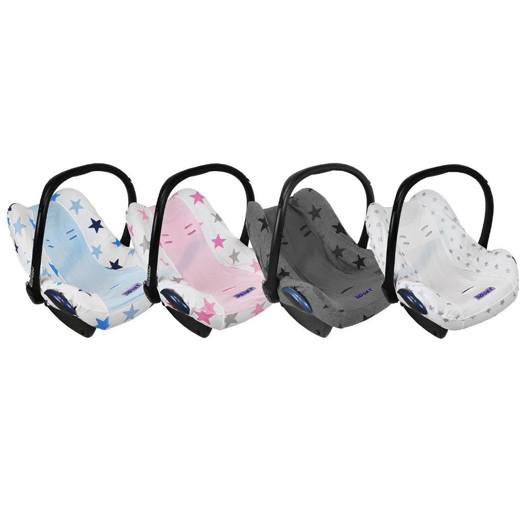 dooky infant car seat cover baby carrier universal removable stylish protector ebay. Black Bedroom Furniture Sets. Home Design Ideas