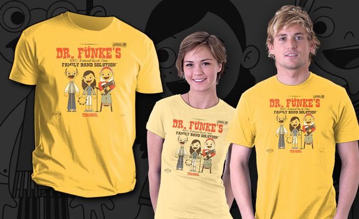 Arrested-Development-Bluth-Record-Label-Cartoon-Satire-Teefury-Men-Shirt-NEW