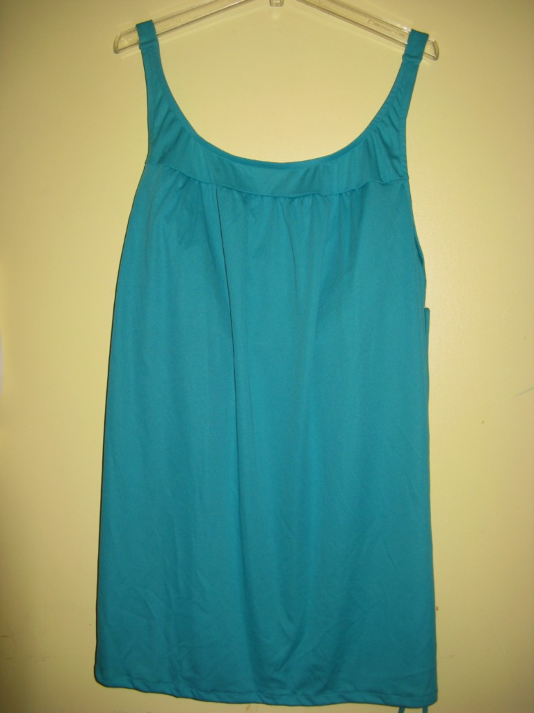 Womens-Summer-swimwear-2pcswimdress-jade-tunic-brief-bathing-set-suit-plus28W3X